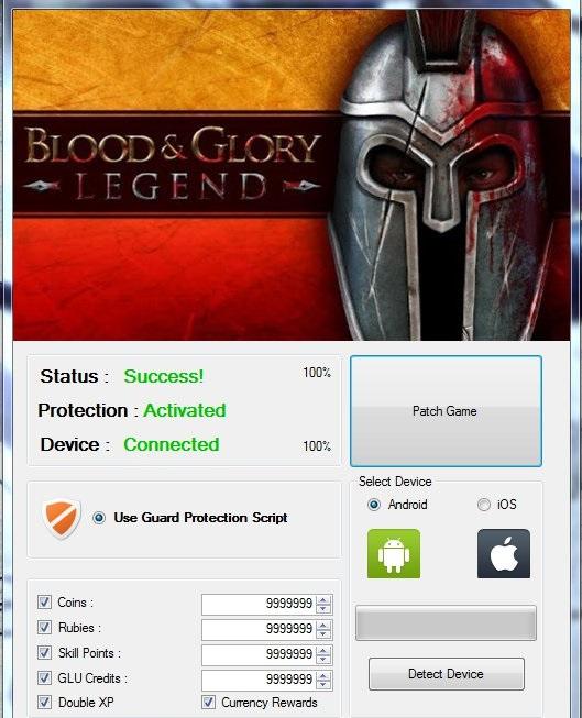 blood and glory legend cheats mac